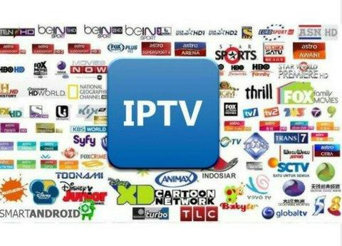 Iptv canais de tv p/ Smart tv box