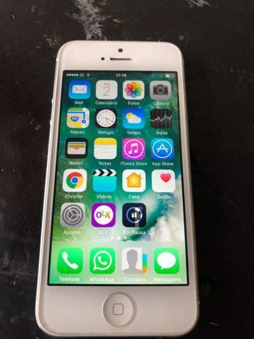 IPhone 5 Anatel original 16 GB cor silver troco por Android