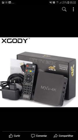 Tv box transforma sua tv em smartv!