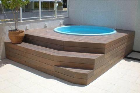 Suite master hidro banheiras e spas e area externa