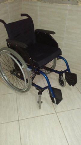 Cadeira de roda alumínio