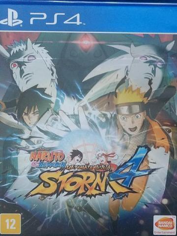 Naruto ninja storm 4 midia física