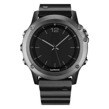 Relógio GPS Garmin Fenix 3 HR - Vidro de Safira - Não risca!