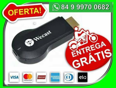 Google Dongle Wecast Full hd Igual Chomecast, Azecast - smartTV- Novo - Entrega Grátis