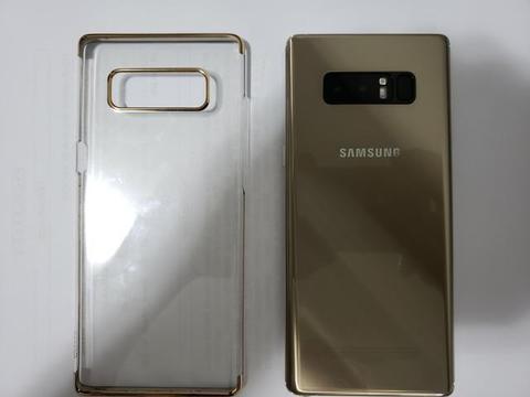 Galaxy Note 8 Dourado