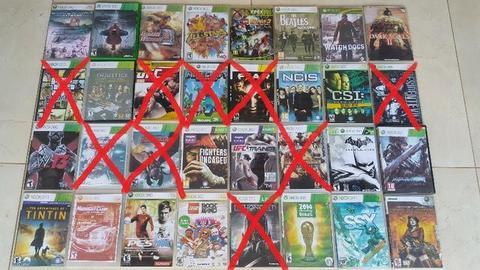 Excelentes jogos de Xbox 360 68 Jogos por 204,00