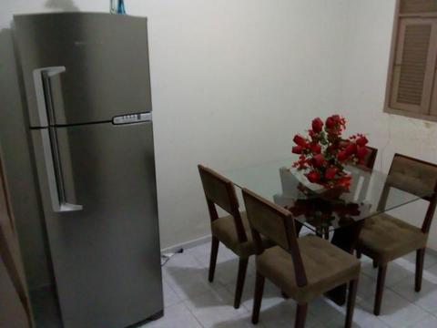 Geladeira inox 380 litros um mes de uso nova 1700 reais zap 986173920
