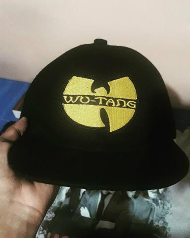 Boné WuTangClan/Snapback/Preto/Regulável