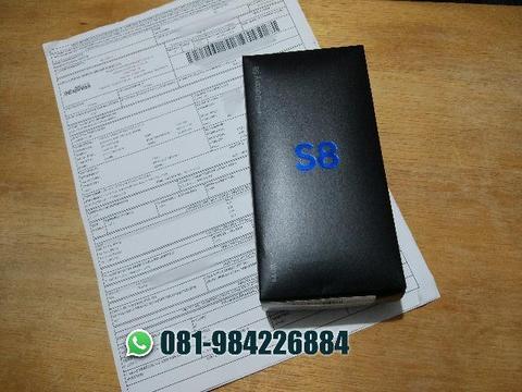 Smartphone Galaxy S8 64GB - Preto - Novo, lacrado e com NF