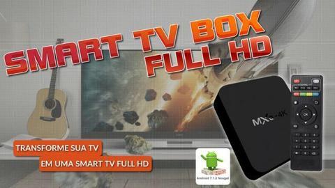TV Box Smart TV Full HD WI-FI Canais Abertos e Pagos Preço Único sem Mensalidade