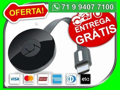 Google Chromecast 2 Chrome Cast 2-crome Hdmi 1080p Original