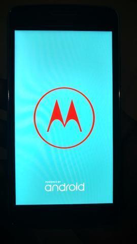 Moto g5 grafite - 32 gb memoria , biometria ,dual chip , internet , completo r$ = 495,00