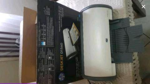 Impressora hp Deskjet D1560 Jato De Tinta (cartucho S/ Tinta)