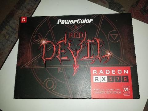 Placa de Vídeo PowerColor Amd Radeon Rx 570 Red Devil 4 GB