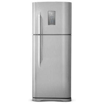 Geladeira/Refrigerador Electrolux Frost Free Inox - Duplex 463L Painel Blue Touch TF52X 11
