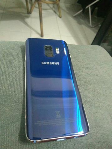 Samsung galaxy s9+ azul lindo 64gb