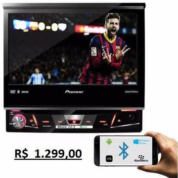 Dvd Player Automotivo Pioneer Avh-x7880TV 1 Din 7 Polegadas Usb Aux Rca Mp3 wma am /fm Blu