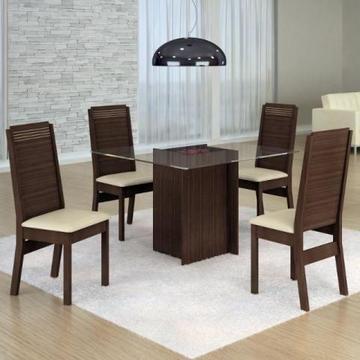 Mesa Jantar Havana com 4 cadeiras#Promoção Receba ate 24HS
