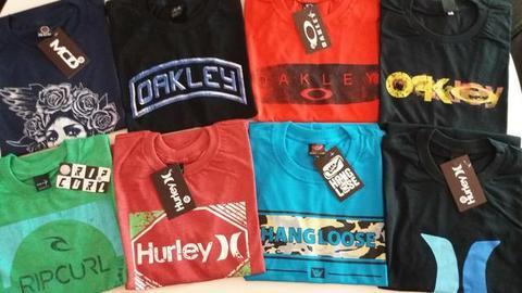 Camisas Malha Surf , temos muitos modelos e marcas