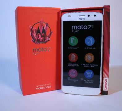 Motorola Moto Z2 Play - 4gb De Ram, 64gb Memória - Tela 5,5'