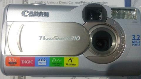 Camera Power shot a310 canon