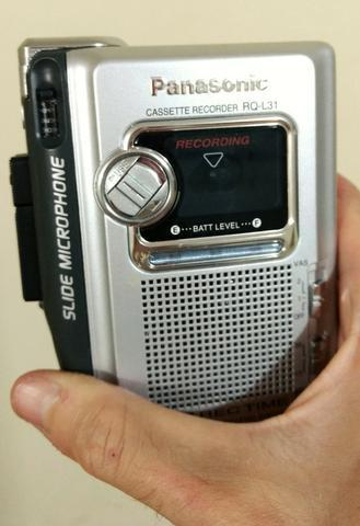 Gravador de fita Panasonic - perfeito estado