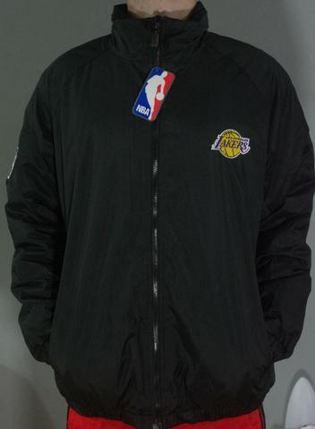 Jaqueta/casaco Nba Los Angeles Lakers Preta Frete Grátis