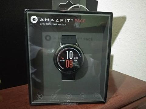 Smartwatch Amazfit Pace Novo lacrado! Aceito cartão