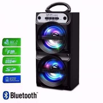 Caixa Caixinha Som Portatil Bluetooth Mp3 Usb Cartão Fm