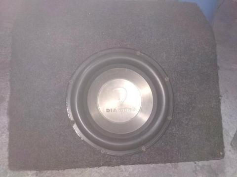 Subwoofer diamond audio 10