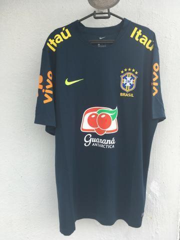 Camisa Treino Brasil | Copa do Mundo 2018 | GG | Nike | Nova