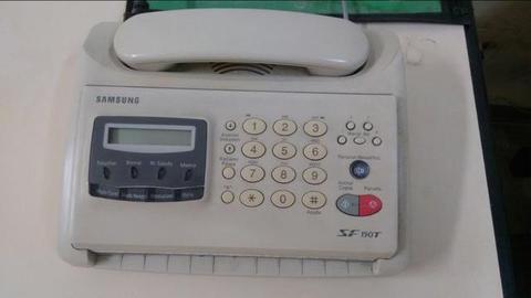 Fax Samsung com secretária eletrônica