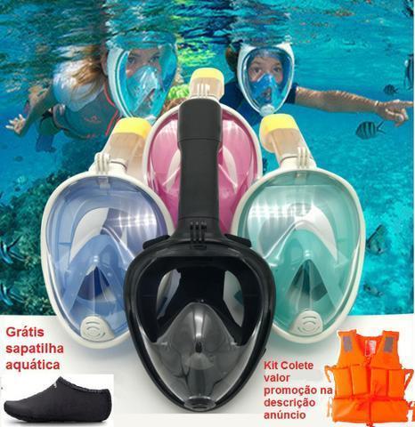 Máscara de mergulho snorkel