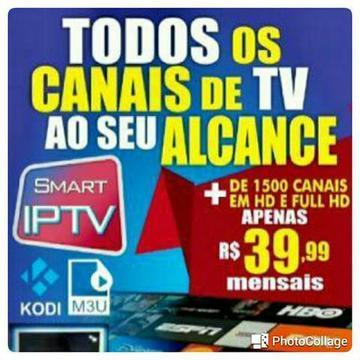 Tudo liberado, para Smart TV