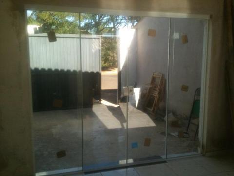 Porta de vidro temperado 8mm 2,1 x 2