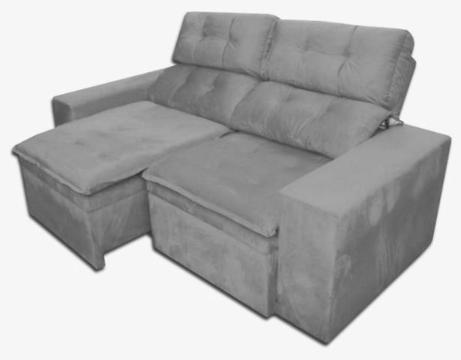 Sofa RetrátiL e Reclinavel Com Baú Mnchester 2 Metros.Ligue 2764-9738/97044-9471