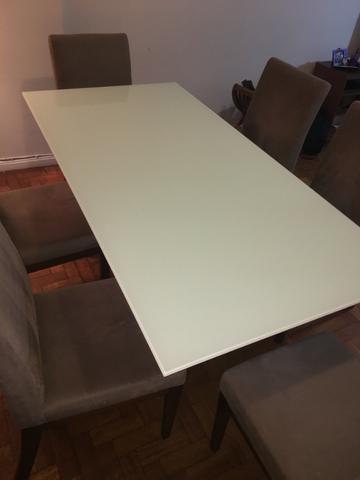 Mesa + 6 cadeiras NOVA