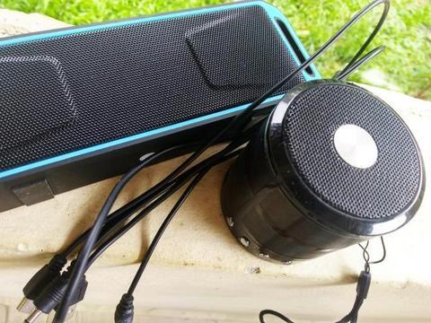 Caixinhas De Som Super Bass Tf, Fm, Bluetooth , Sd