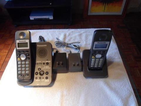 Telefone sem Fio com Secretária Eletronica Panasonic KX-TG3531LA | Whats (51 98289-4