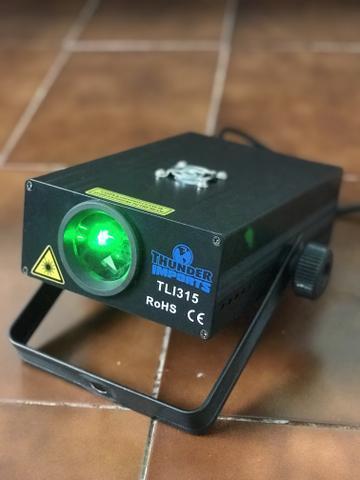 Laser Verde iluminação DJ