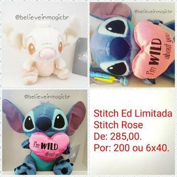 Pelúcias Stitch Disney Japão