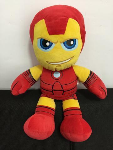 Boneco Buba Toys Homem de Ferro G 53cm
