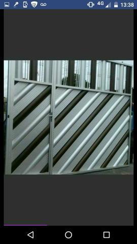 Portões # aço inox # blindex