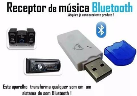 Receptor Bluetooth Áudio USB