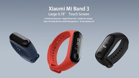 Smartband Xiaomi Mi Band 3 - Lacrada (Portugues)