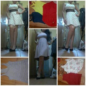 Lote de roupas femininas 29 peças sendo 2 pares sapato por 80,00