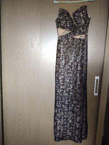 Belíssimo vestido longo de festa