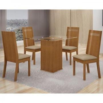 Mesa Havana com 4 cadeiras * direto do fabricante c/garantia peça já Pronta entrega