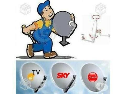 Manutenção e instalação de antenas