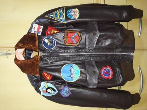 Jaqueta de couro Top Gun original